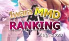 【Iwara MMDランキング - 2020年8月号】【Iwara.tv MikuMikuDance Ranking - Aug. 2020】