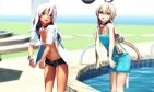 【MMD】Dive to Blue(Ro-500 and Shimakaze)