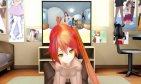【2D flat】【ロリ】loli Rina Climb front TV in Otaku Room ~ #EarlyWorks 【MMDR-18】【4K】