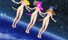 MMD Pink+Blonde+Rainbow Katts {Pink Cat} R18