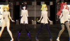 Auska, Shayna, Roxy and Ran ~ Ghost Dance (Short version)