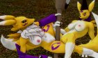 198 - Renamon and Taomon