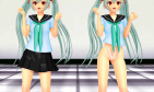 【MMD】Alice trains a hip【R-18】