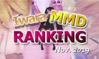 【Iwara MMDランキング - 2019年11月号】【Iwara.tv MikuMikuDance Ranking - Nov. 2019】