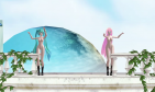 MMD Miku-Luka --Worlds End Dancehall