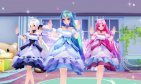 【MMD】FLOWER SHOWER [DL Models in Description]