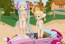 Alice and Konko - Mini Loli Playback Show