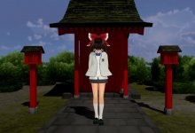 霊夢 : Love and Joy : Reimu