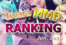 【Iwara MMDランキング - 2020年6月号】【Iwara.tv MikuMikuDance Ranking - Jun. 2020】