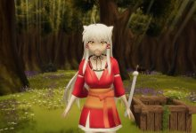 Inuyasha Girl - Angelite - Maware - Basara Paradise - Yes or Yes