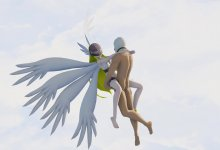 Angewomon - Sex in Heaven (Digimon R-18 MMD)