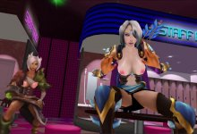 MMD _ Ahri, Ashe, Riven - Topless (League Of Legends) _ dl | Download