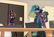 MMD _ Echo - League Of Legends _ Caitlyn, Lux, Sona _ DL | Download