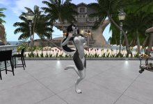 【Second Life】Furry Dance - Platinam【R18】