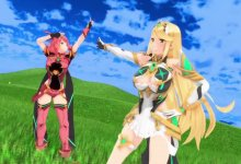 ホムラ & ヒカリ Twinkle Days / pyra & mythra Twinkle Days