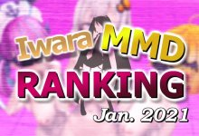 【Iwara MMDランキング - 2021年1月号】【Iwara.tv MikuMikuDance Ranking - Jan. 2021】