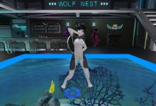 【Second Life】Furry Dance - Mosaic Roll【R18】