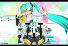 初音ミク Project DIVA Sex Racing Miku 2011