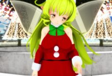 [RAY-MMD] Where Are You Christmas [Christmas Fairy] ( MOTION / CAMERA / WAV / STAGE / DL )