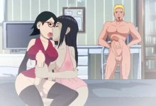 Futa Sarada vs Hinata HouseWife