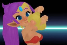 MMD Shantae Drop It!