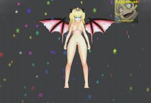 MMD Blondie Succubus {Away from You} R18