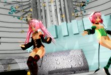 MMD - Nana Deviluke and Momo Deviluke - Childish War (HD)