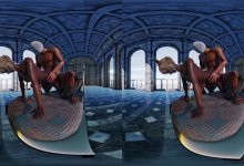 Final Fantasy – Yshtola Drilled From Behind [VR RAY 180°] DL
