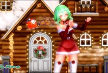 MikuMikuDance - Christmas Gumi HB - Jingle Bells (R-18) ? (HD 1080p)