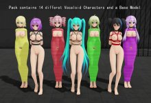 Model DL - Bondage Vocaloids Pack (RayCast Ready)