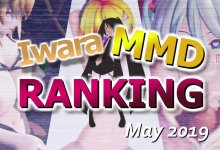 【Iwara MMDランキング - 2019年5月号】【Iwara.tv MikuMikuDance Ranking - May 2019】