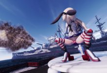 Shimakaze Live Fire Drill Pleasure