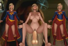Supergirl Ninetail+2X Supergirls  (We Are The Brave) R18