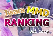 【Iwara MMDランキング - 2019年7月号】【Iwara.tv MikuMikuDance Ranking - Jul. 2019】