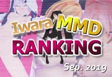 【Iwara.tv MikuMikuDance Ranking Sep. - 2019】【Iwara MMDランキング - 2019年9月号】