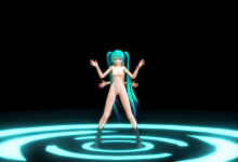 [MMD] Tda Miku and Rin Womanizer