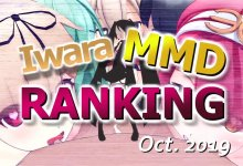 【Iwara MMDランキング - 2019年10月号】【Iwara.tv MikuMikuDance Ranking - Oct. 2019】