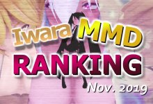 【Iwara.tv MikuMikuDance Ranking Nov. - 2019】【Iwara MMDランキング - 2019年11月号】