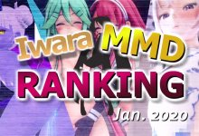 【Iwara MMDランキング - 2020年1月号】【Iwara.tv MikuMikuDance Ranking - Jan. 2020】