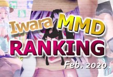 【Iwara MMDランキング - 2020年2月号】【Iwara.tv MikuMikuDance Ranking Feb. - 2020】