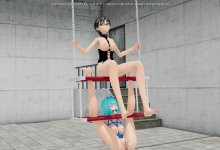Lets Play on the Swing (Yuri Bondage Sex)