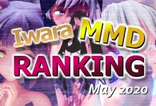 【Iwara MMDランキング - 2020年5月号】【Iwara.tv MikuMikuDance Ranking - May 2020】