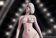 [MMD] BLACKPINK - How You Like That - 2B Nier Automata